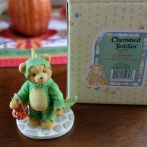 "Cherished Teddies ""Rex"" Dinosaur Costume Figurine"